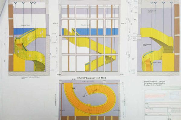 Treppen: Fertigungsplanung